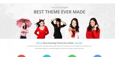 Brave - Business Responsive HTML Template