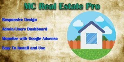 MC Real Estate Pro - PHP Script