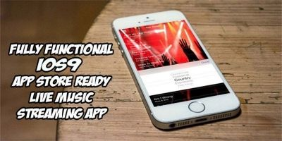 Music Streaming iOS App Source Code