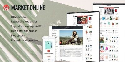 MarketOnline - Supermarket Prestashop Theme