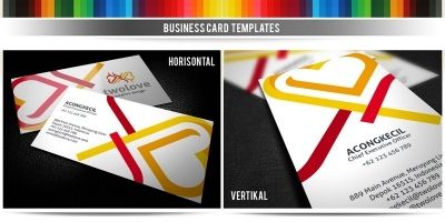 2Love - Premium Business Card Template