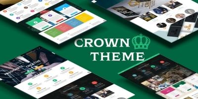 Crown - Multipurpose WordPress Theme