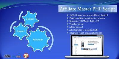 Affiliate Master PHP Script