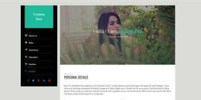 Swiftly - Resume Wordpress Theme