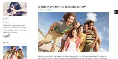 Blogius -  WordPress Personal Blog Theme