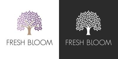 Fresh  Bloom - Logo Template