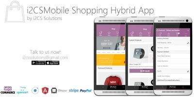 Ionic WooCommerce Mobile App Template