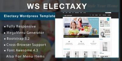 WS Electasy - Electronic Store WooCommerce Theme