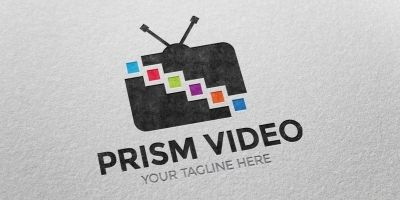 Prism Video Logo Template