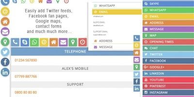 Social Profiles - WordPress Plugins