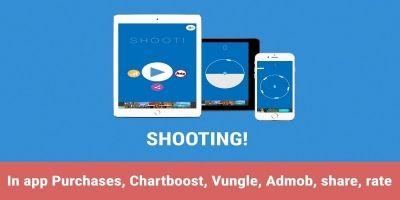 Shooting - iOS Universal Game Source Code