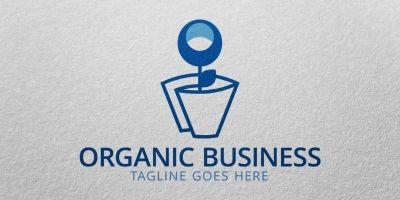 Organic Business Logo Template