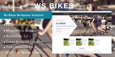 WS Bikes - WooCommerce Theme