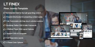 LT Finex – Company Joomla Template