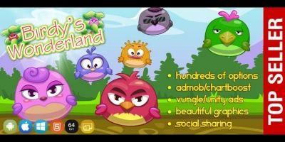 Birds Wonderland - Unity Game Template