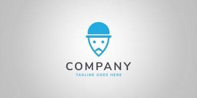 Locate Him - Logo Template