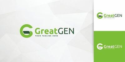 GreatGen - Logo Template