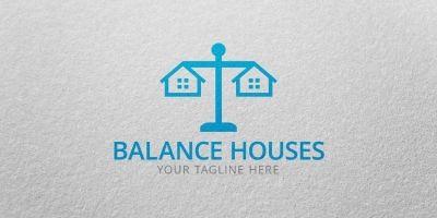 Balance Houses - Logo Template