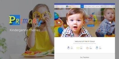 Primary -  Kindergarten School WordPress Theme