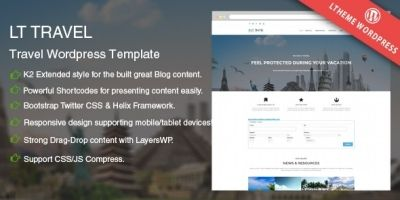 LT Travel - WordPress Travel Theme