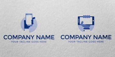 Business Phone - Logo Template