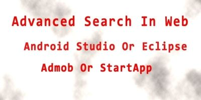 Advanced Web Search - Android App Source Code