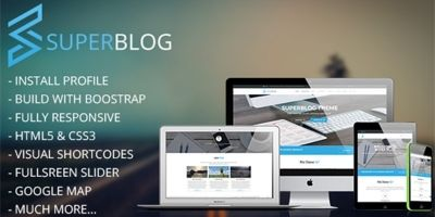 Super Blog - Shopping Responsive Drupal Theme