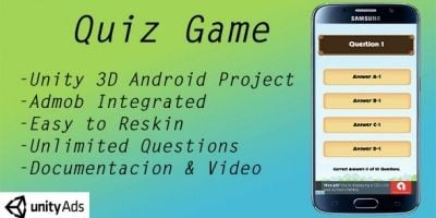 Quiz Game - Unity Source Code