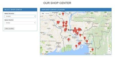 Google Map Location - PHP Script