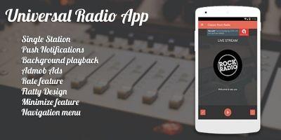 Universal Radio App - Android App Source Code