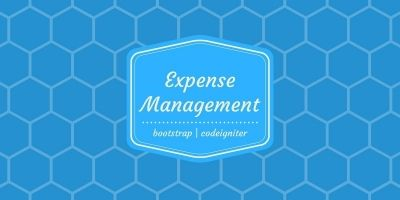 Expense Management system PHP Script