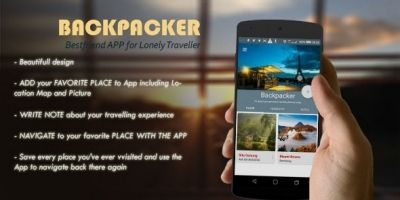 Backpacker - Android Travel App