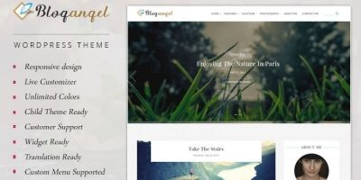 BlogAngel - Flawless Blogging Theme