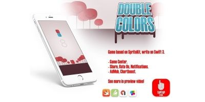 Double Colors - iOS Xcode Source Code