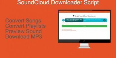 SoundCloud Downloader Script