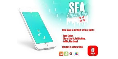 Sea Adventure - iOS Template