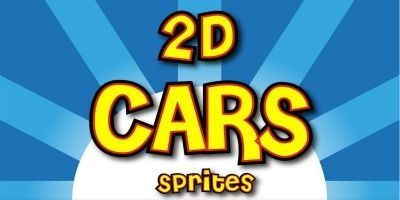 Cars Game Vehicle Sprite Sheets