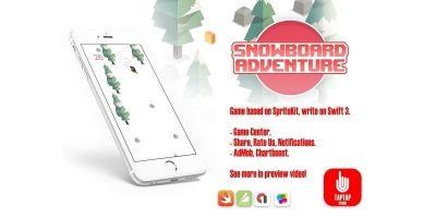 Snowboard Adventure - iOS Source Code