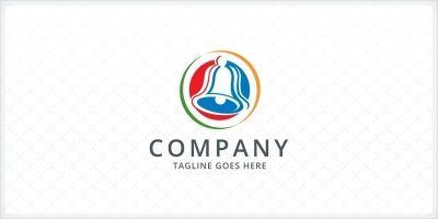 Klingelt Bell Logo Template