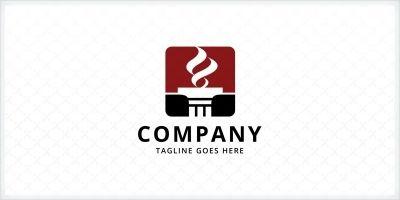 Pillar Torch - Law Firm Logo Template
