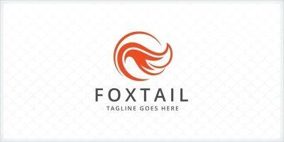 Fox Tail Logo Template