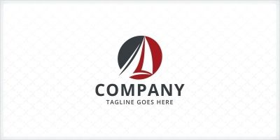 Sailboat Logo Template