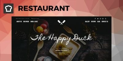 SitePoint Restaurant WordPress Theme
