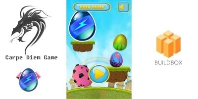 Egg Bounce Buildbox Template
