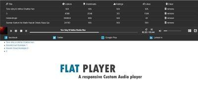 Flat Player