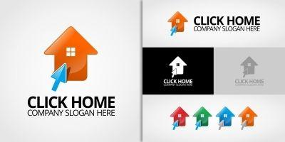 Click Home - Logo Template
