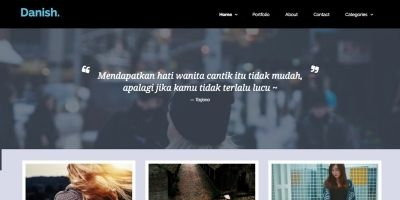 Danish - Portfolio HTML Template