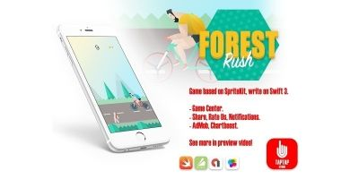 Forest Rush - iOS Source Code