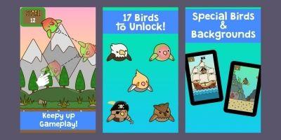 Keepy Up Bird - Unity Source Code