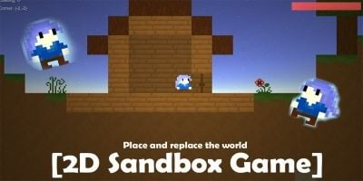 2D Survival Sandbox Game - Unity Project
